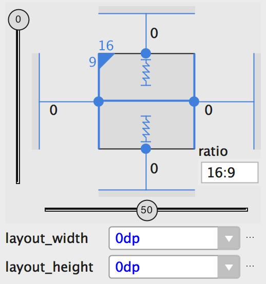 图11.view设置为16:9,宽度基于高度的比率